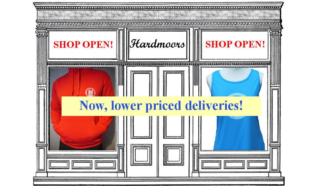 Hardmoors Shop is now open